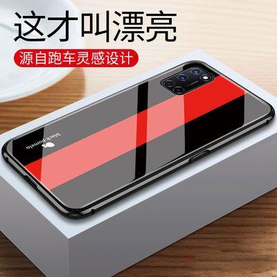 oppoa92s/a52手机壳oppok5男士个性钢化玻璃壳潮牌手机保护套
