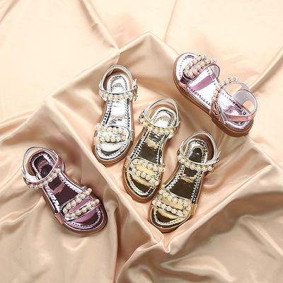 女童夏季凉鞋2020新款时尚中大童公主儿童鞋子软底小童小女孩童鞋