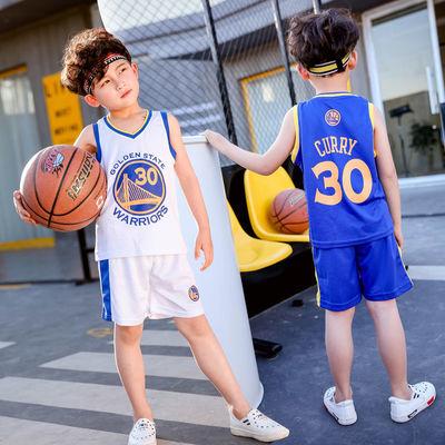 3男童装训练球衣4儿童5幼儿6小男孩7篮球服8运动服9夏季12岁套装
