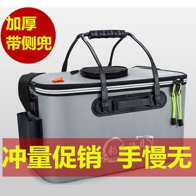 装鱼桶鱼桶钓鱼水桶活鱼箱折叠鱼桶EVA水桶鱼护桶鱼箱钓箱钓鱼桶