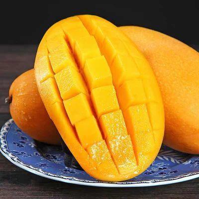 精选大金煌芒水仙芒果甜心芒新鲜当季水果2/5/10斤青芒果整箱批发