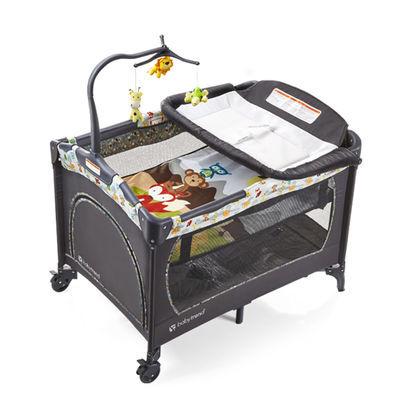 美国Babytrend 宝宝婴儿床新生儿可折叠便携式多功能摇篮床游戏床