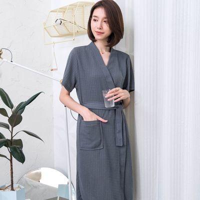 裙子韩版睡袍闺蜜女士睡袍女夏性感短裙喜庆顾客超薄衣裙子黑色