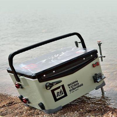 一帆精工2020新款钓箱超轻特价多功能钓鱼箱全套铝合金配件