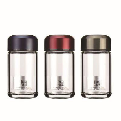 双层玻璃杯女小巧办公家用高档便携防摔真空韩版可爱加厚网红茶杯