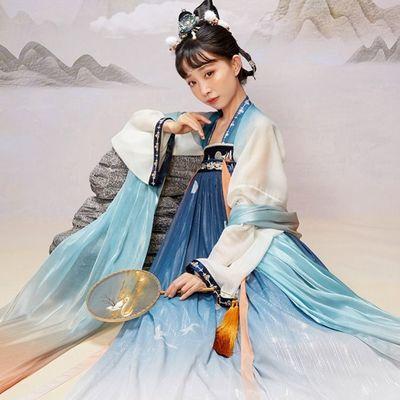 【十三余 小豆蔻儿】[嫦娥如梦令-王者荣耀联名款]齐胸衫裙汉服女