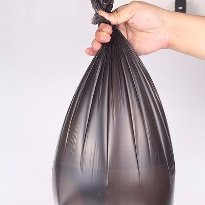 25只装买五卷送二卷垃圾袋家用加厚一次性批发黑色拉圾塑料袋大号