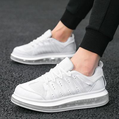 买一送二-运动鞋男鞋韩版跑步鞋女麦昆小白鞋透气增高鞋情侣潮鞋