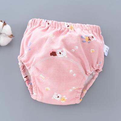训练内裤宝宝纯棉防水可洗尿布裤秋冬儿童防漏婴儿如厕学习裤男女