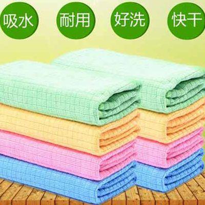 【4-8条装】韩国正品神奇碗洗布超细纤维吸水不掉毛擦玻璃的抹布