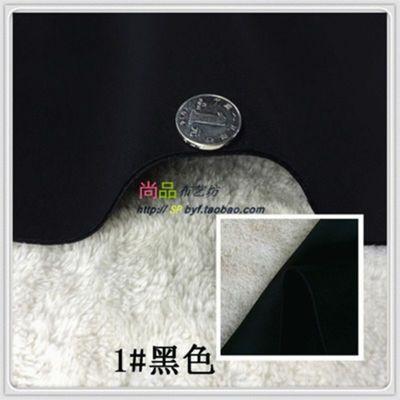 太空棉加厚面料真空夹丝服装针织复合四面弹力廓形泡泡空气层布料