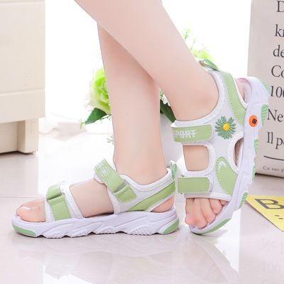 儿童凉鞋2020夏季新款小雏菊沙滩鞋男女童防滑软底中小童宝宝凉鞋