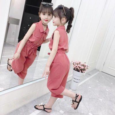 女童夏装套装2020年新款儿童装超洋气网红女孩夏季中大童女装时髦