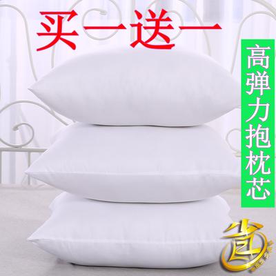 {买一送一}多规格可选沙发靠垫靠背芯抱枕芯方垫芯十字绣糖果枕芯