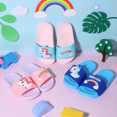 儿童女孩拖鞋夏季男女童室内外厚底可爱卡通软底防滑中大童凉拖鞋