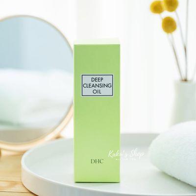新款日本DHC橄榄卸妆油200mL温和眼唇脸部深层清洁去黑头去角质按