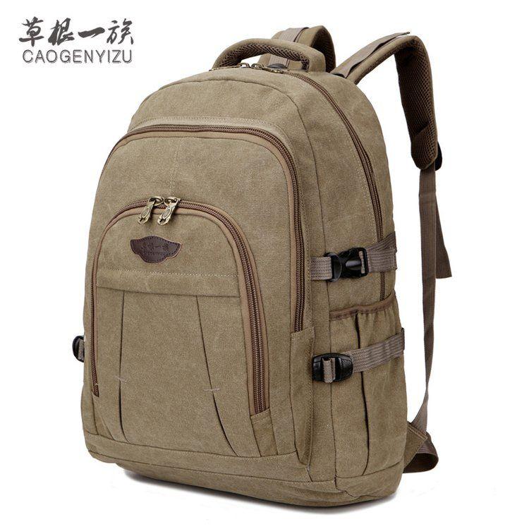 大容量帆布双肩背包男女通用款旅游行李包大学生耐磨牛仔布大书包