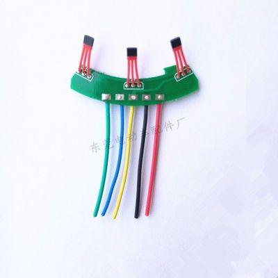 电动三轮车电机霍尔元件差速电机霍尔板3144 41F43F413通用好安装