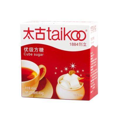 美味送糖夹 Taikoo太古方糖 白砂糖咖啡奶茶咖啡伴侣454g 共100粒