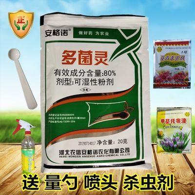 多菌灵 杀菌剂 百菌清 杀菌药 花卉蔬菜果树专用可湿性粉剂400克