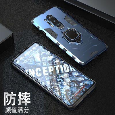 一加8 Pro手机壳全包防摔带磁吸支架保护套一加8超薄硅胶磨砂软壳