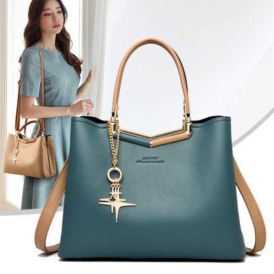 母亲节礼物包包女包2020新款潮时尚真皮质感中年女手提包袋妈妈款