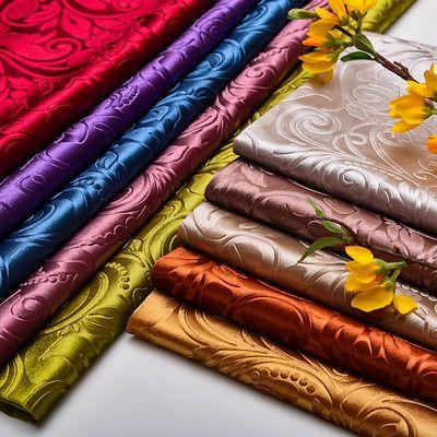 。欧式金丝绒压花沙发布料绒布加厚法兰绒软包硬包坐垫抱枕桌布面