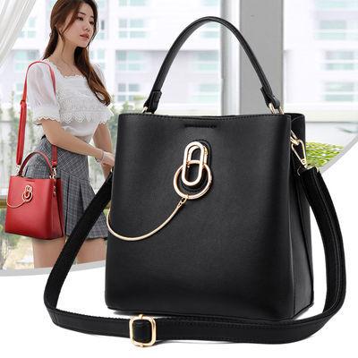 时尚包包女新款韩版大容量手提包百搭大容量女士单肩包中年妈妈包