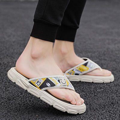 夏季拖鞋男时尚个性外穿人字拖男士休闲凉鞋防滑防臭沙滩潮流潮拖