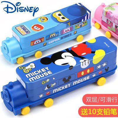迪士尼考试必备文具盒炫酷男生玩具铅笔盒小学生笔袋女韩版可爱汽