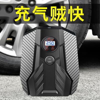 车载充气泵便捷式汽车用小轿车电动车轮胎打气泵12v打气筒大功率
