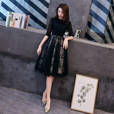 小晚礼服女宴会气质高端名媛平时可穿法式仙气学生高贵优雅连衣裙