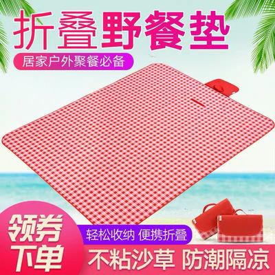 野餐垫防潮垫加厚户外露营帐篷垫草地垫沙滩垫网红野炊郊游野餐布