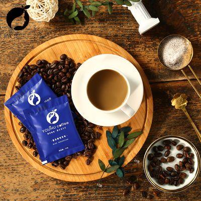 呦呼YOUHU蓝山风味咖啡40条速溶咖啡粉特浓印尼进口办公室饮料