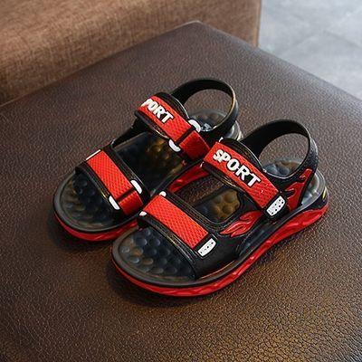 2020新款儿童凉鞋男孩夏季防滑小中大童学生凉鞋室内外运动凉拖鞋