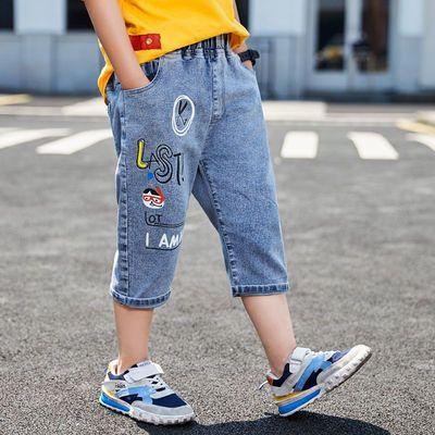 童装男童牛仔休闲中裤儿童夏天短裤2020新款中大童五分裤学生裤潮