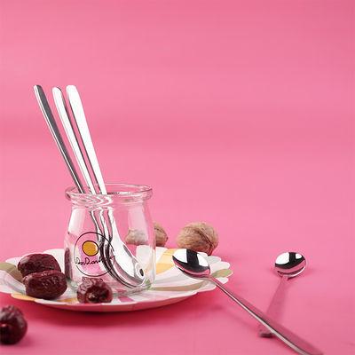 2-4-8支创意不锈钢304冰勺长柄搅拌勺蜂蜜勺 马克杯赠品勺 冰淇淋