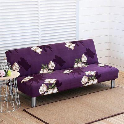 【沙发床罩】三人位无扶手沙发床套子沙发盖布15m18m2m米长简易