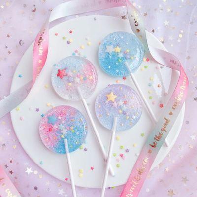 仙女棒棒糖可爱樱花星空棒棒糖高颜值礼物情人节糖果女友生日礼物
