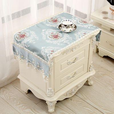 【一件装】欧式床头柜盖布布艺卧室床头柜罩 万能盖巾 简约防尘罩