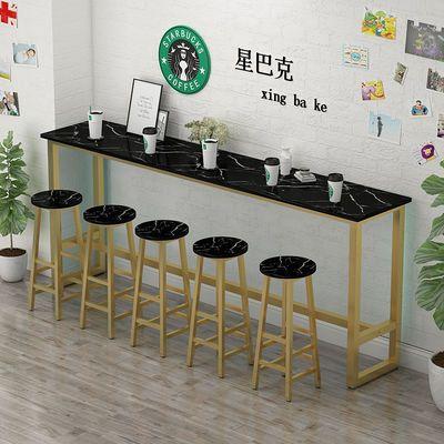 吧台桌家用阳台靠窗桌酒吧桌高脚桌吧台桌椅组合长条桌靠墙窄桌子