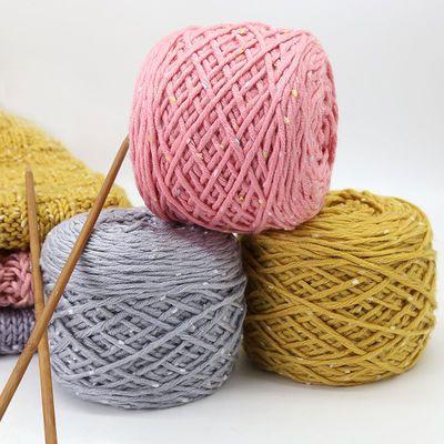 线粗毛线团批发2团送针买5团送1团雪花线男女手工编织帽子围巾