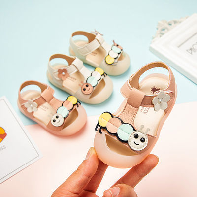 夏季宝宝鞋儿童凉鞋女0-3岁公主鞋子女软底婴儿鞋学步鞋2女童凉鞋