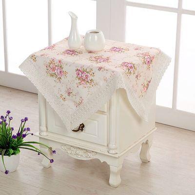 万能盖巾防尘布床头柜盖布冰箱罩防尘罩滚筒洗衣机盖布微波炉盖布