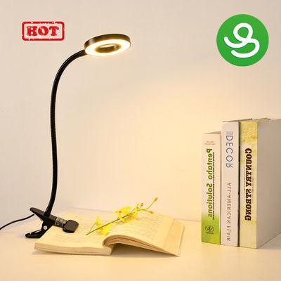USB夹子软管补光灯直播学生学习灯宿舍书架床头阅读台灯护眼学习