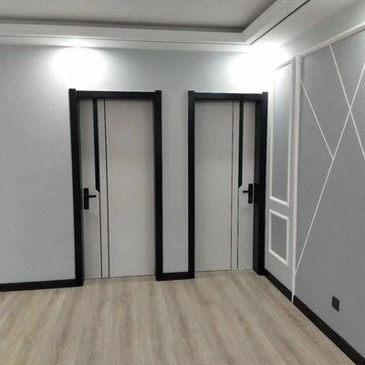 室内套装门实木烤漆木门卧室门厨房厕所门双开推拉门谷仓门隐形门