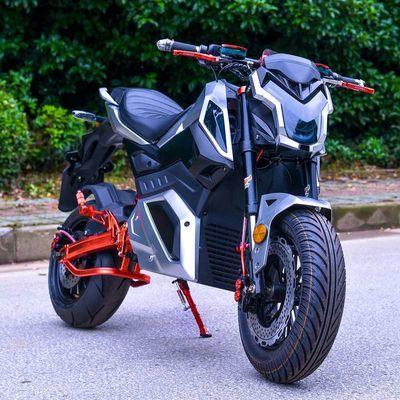 新款猴子m5 小怪兽z6电动摩托车72v电瓶车高速电摩双人跑车男
