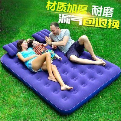 【免费送气泵气枕】双人家用充气床气垫床单人充气床垫午休折叠床