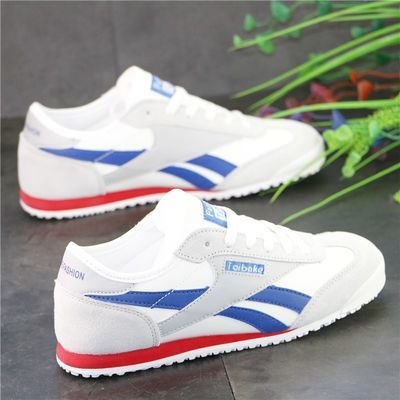 男鞋阿甘鞋欧洲站学生轻便透气跑步鞋情侣款运动鞋百搭帆布鞋板鞋