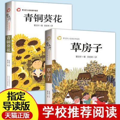 正版曹文轩青铜葵花草房子9-15岁少儿童图书儿童文学小说故事书籍